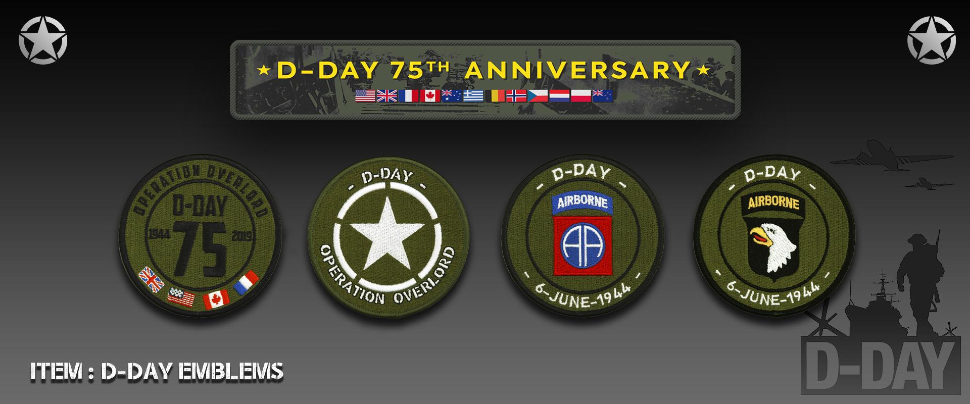 D-Day Emblems